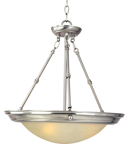 Maxim Lighting Signature 3 Light Pendant in Satin Nickel 15844ICSN photo
