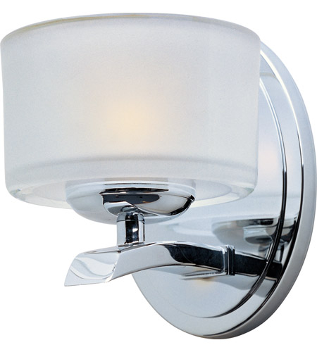 Maxim Lighting Elle 1 Light Wall Sconce in Polished Chrome 19051FTPC photo