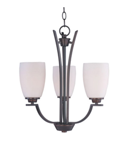 Maxim Lighting Rocco 3 Light Mini Chandelier in Oil Rubbed Bronze 20023SWOI photo