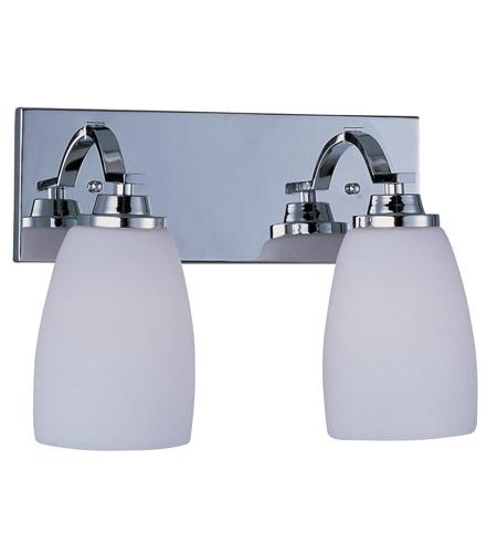 Maxim 20027SWPC Rocco 2 Light 14 inch Polished Chrome Bath Light ...
