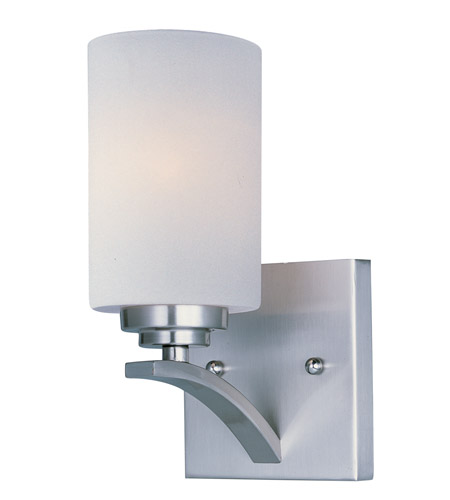 Maxim 20030SWSN Deven 1 Light 5 inch Satin Nickel Wall Sconce Wall Light photo