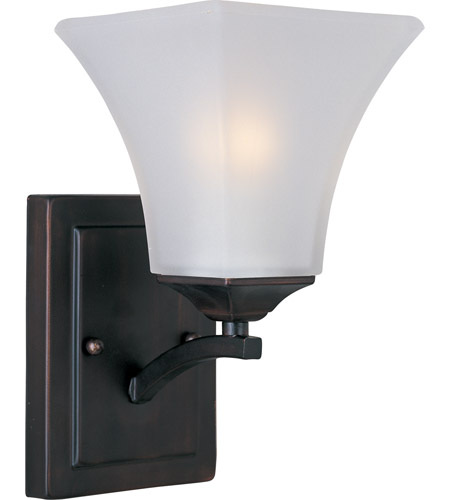Maxim Lighting Aurora 1 Light Wall Sconce in Oil Rubbed Bronze 20098FTOI photo