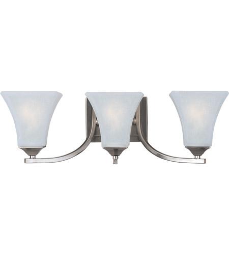 Maxim FTSN Aurora Light Inch Satin Nickel Bath Light Wall - Satin nickel bathroom lights