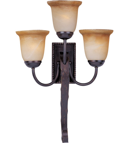 Maxim Lighting Aspen 3 Light Wall Sconce in Oil Rubbed Bronze 20619VAOI photo