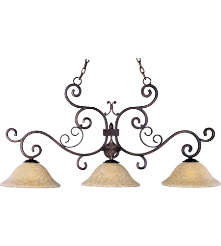 Maxim Lighting Verona 3 Light Island Pendant in Oil Rubbed Bronze 20637VAOI photo