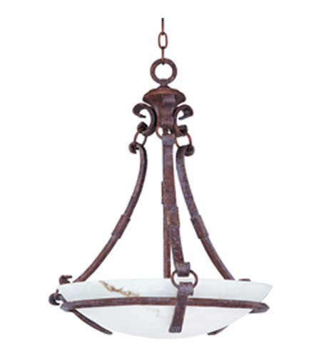 Maxim Lighting Catalina 3 Light Pendant in Castle Bronze 20693WHCB photo