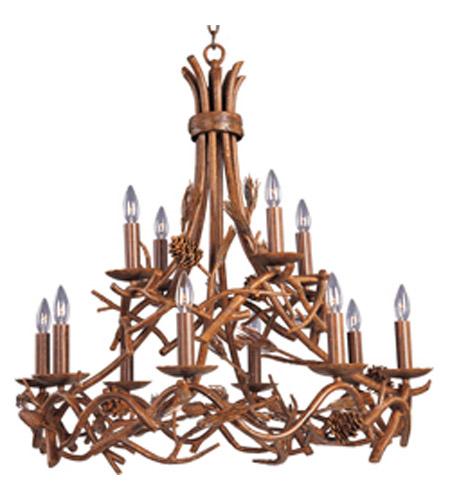 Maxim Lighting Pine Grove Multi Tier Chandelier In Tree 20707pt