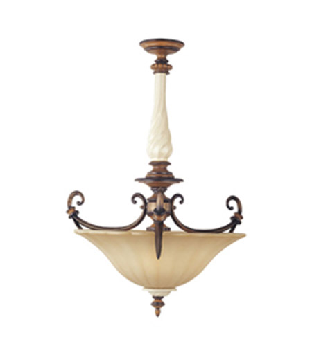 Maxim Lighting Cumberland 3 Light Pendant in Savanna Bronze 20863TESB photo