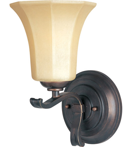 Maxim Lighting Chelsea 1 Light Wall Sconce in Weathered Russet 20888WSWR photo