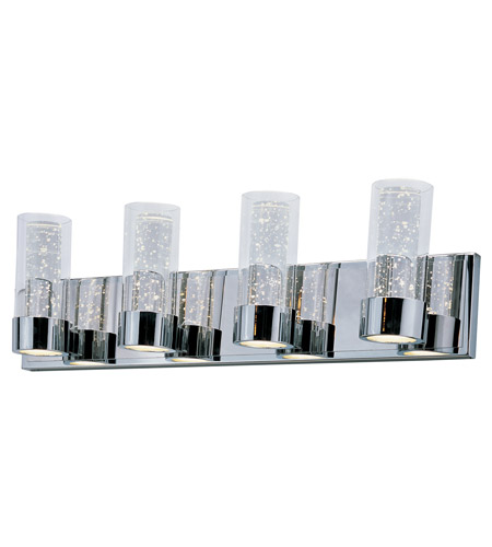 Maxim Lighting Sync 8 Light LED Bath Vanity in Polished Chrome 20904CLPC