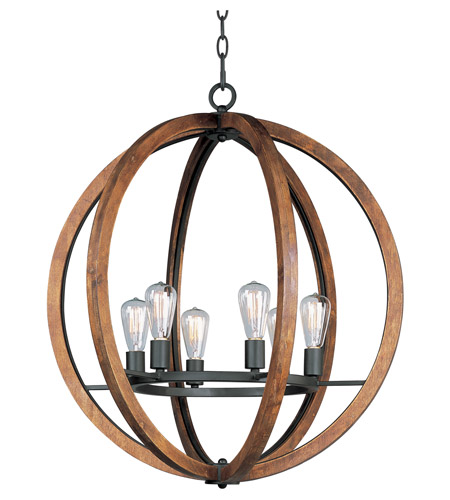 Captivating Maxim 20918APAR Bodega Bay 6 Light 30 Inch Anthracite Chandelier Ceiling  Light In Without Bulb