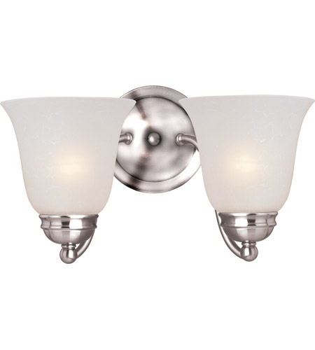 Maxim Lighting Basix 2 Light Wall Sconce in Polished Chrome 2121ICPC photo