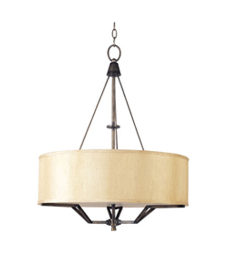 Maxim Lighting Avant 3 Light Pendant in Golden Auburn 21253CHGA photo