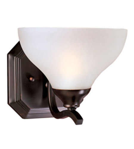 Maxim Lighting Contour 1 Light Wall Sconce in Oil Rubbed Bronze 21271FTOI photo