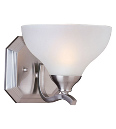 Maxim Lighting Contour 1 Light Wall Sconce in Satin Nickel 21271FTSN photo