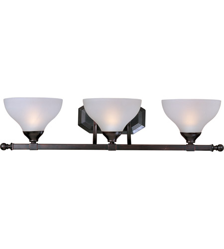Maxim Lighting Contour 3 Light Bath Light in Oil Rubbed Bronze 21273FTOI photo
