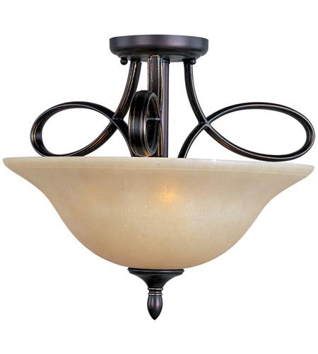 5324596fada ... Rubbed Bronze Semi Flush Mount Ceiling Light. 9696 Infinity 41. Maxim  21302WSOI