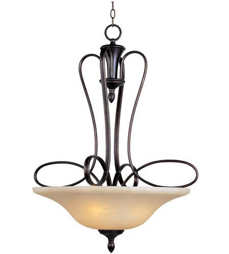 Maxim 21303WSOI Infinity 3 Light 27 inch Oil Rubbed Bronze Pendant Ceiling Light photo