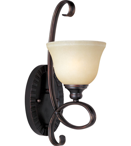 Maxim 21311WSOI Infinity 1 Light 7 Inch Oil Rubbed Bronze Wall Sconce Photo