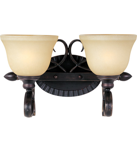 maxim 21312wsoi infinity 2 light 16 inch oil rubbed bronze bath light wall light - Oil Rubbed Bronze Bathroom Lighting