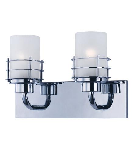 Maxim 2132ftpc tier 2 light 14 inch polished chrome vanity light maxim 2132ftpc tier 2 light 14 inch polished chrome vanity light wall light aloadofball Choice Image