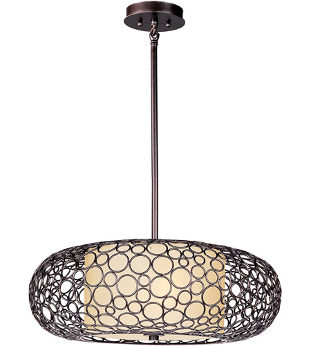 Maxim Lighting Meridian 2 Light Pendant in Umber Bronze 21347DWUB photo