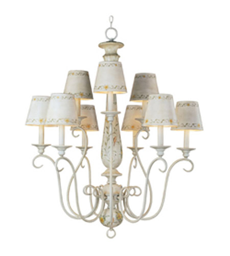 Maxim Lighting French Country 9 Light Multi Tier