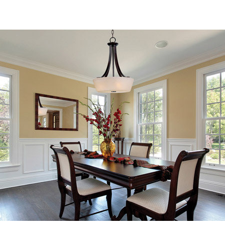 Maxim Lighting Finesse 4 Light Entry Foyer Pendant In