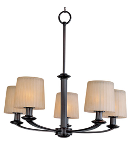 Maxim Lighting Finesse 5 Light Multi-Tier Chandelier in Oil Rubbed Bronze 21505DWOI photo