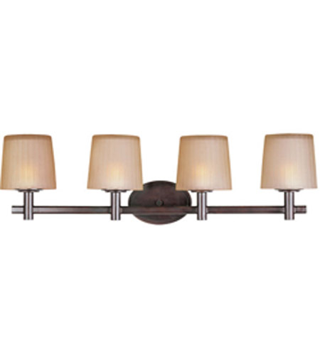 Maxim Lighting Finesse 4 Light Bath Light in Oil Rubbed Bronze 21514DWOI photo