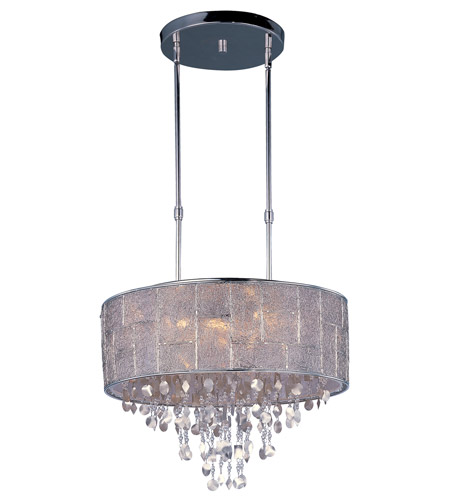 Maxim 21565TWPN Allure 9 Light 22 inch Polished Nickel Single Pendant Ceiling Light photo