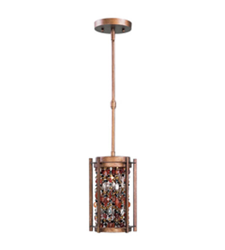 Maxim Lighting Trinket 1 Light Mini Pendant in Chestnut 21573CT photo