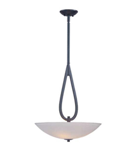 Maxim Lighting Elan 3 Light Pendant in Texture Ebony 22173SWTE photo