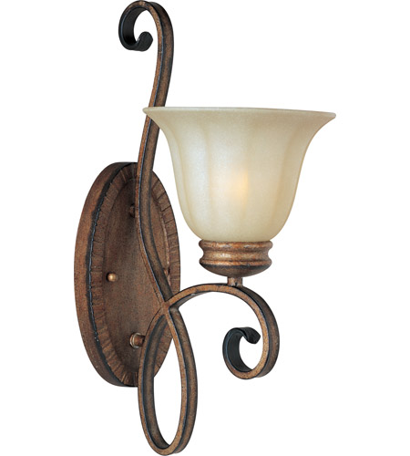 Maxim Lighting Fremont 1 Light Wall Sconce in Platinum Dusk 22251WSPD photo