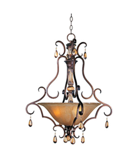 Maxim Lighting Dresden 3 Light Pendant in Filbert 22262EMFL photo