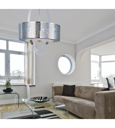 Maxim 22304PN Mirage 5 Light 22 inch Polished Nickel Pendant Ceiling Light photo