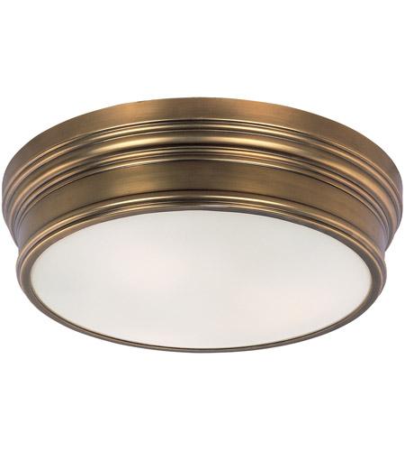 maxim 22371swnab fairmont 3 light 16 inch natural aged brass flush