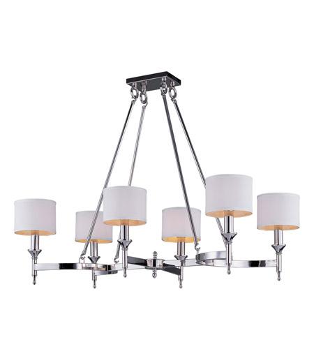 Maxim 22376wtpn fairmont 6 light 22 inch polished nickel chandelier maxim 22376wtpn fairmont 6 light 22 inch polished nickel chandelier ceiling light aloadofball Choice Image