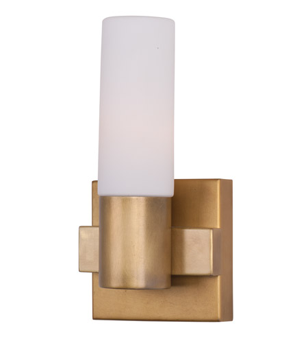 Maxim 22411SWNAB Contessa 1 Light 5 Inch Natural Aged Brass Wall Sconce Wall  Light Photo