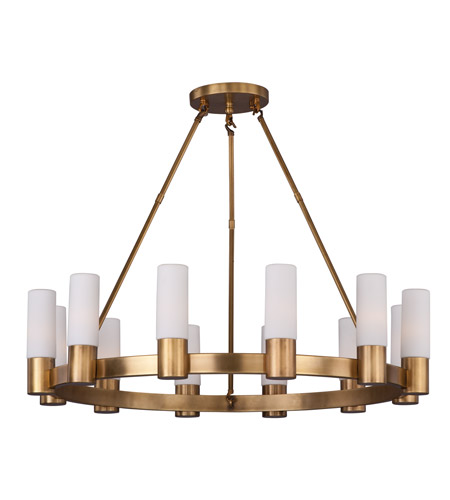 super popular 382d1 48139 Contessa 12 Light 35 inch Natural Aged Brass Chandelier Ceiling Light