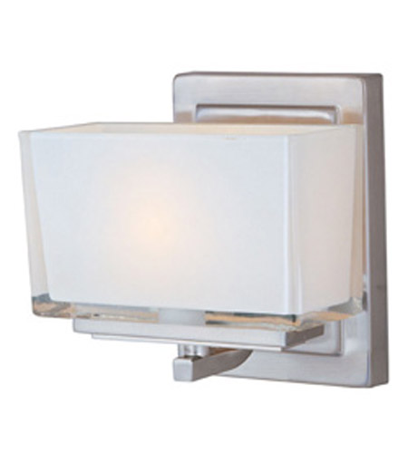 Maxim Lighting Progetto 1 Light Wall Sconce in Satin Nickel 23011WISN photo