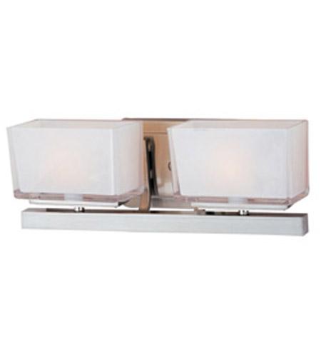 Maxim Lighting Progetto 2 Light Bath Vanity in Satin Nickel 23012WISN photo