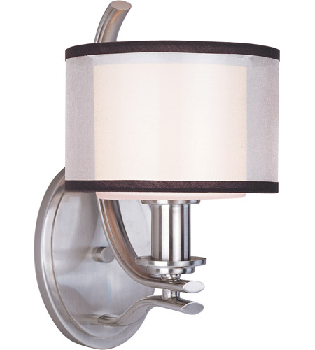 Maxim Lighting Orion 1 Light Wall Sconce in Satin Nickel 23038SWSN photo