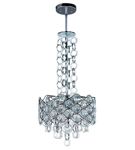 Maxim 23094BCPC Cirque 6 Light 15 inch Polished Chrome Single Pendant Ceiling Light photo