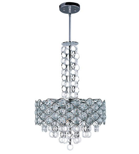 Maxim 23095BCPC Cirque 8 Light 20 inch Polished Chrome Single Pendant Ceiling Light photo