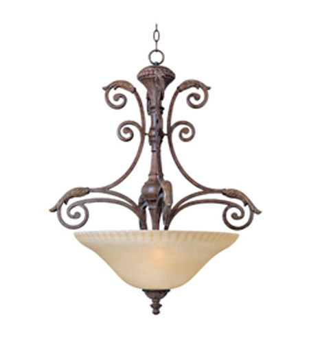Maxim Lighting Beaumont 3 Light Pendant in Golden Fawn 24103CFGF photo
