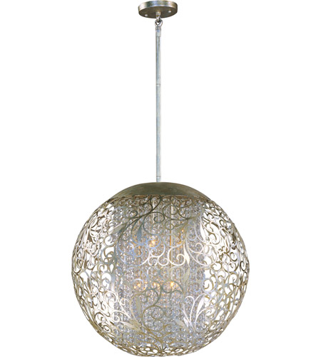 Maxim 24156BCGS Arabesque 9 Light 23 inch Golden Silver Pendant Ceiling Light photo