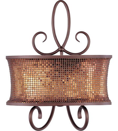 Maxim 24168SBUB Alexander 2 Light 14 inch Umber Bronze Wall Sconce Wall Light photo