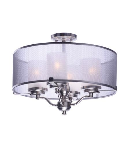 semi flush mount ceiling lights. Maxim 24550SSSN Lucid 4 Light Satin Nickel Semi-Flush Mount Ceiling Semi Flush Lights S