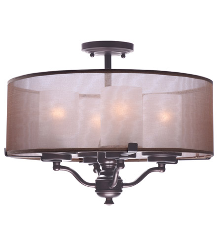 light maxim bronze bongo product semi oil inch rubbed lights mount flush lighting ceiling